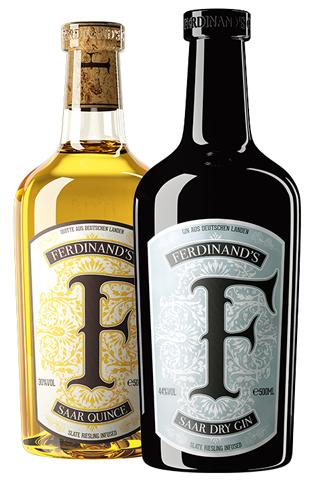 Produktabbildung von Ferdinand's Saar Dry Gin